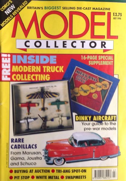 ORIGINAL MODEL COLLECTOR MAGAZINE July 1998